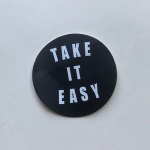 RARE take it easy brandy Melville sticker